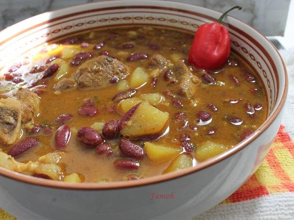 haricots rouges aux épices