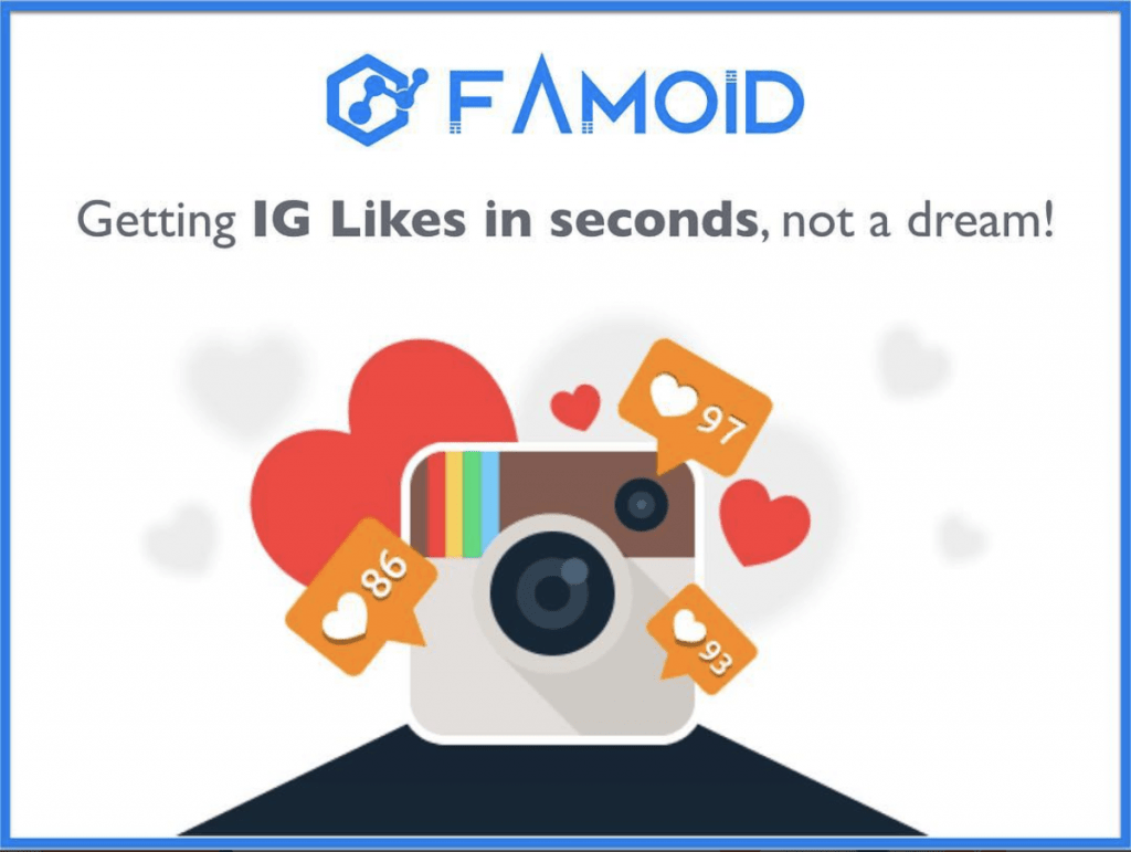 Buy Instagram Likes  100 Real  Instant Likes at Famoid