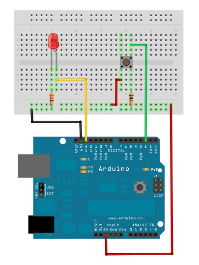 Arduino Button Tutorial: 6 Steps with Pictures