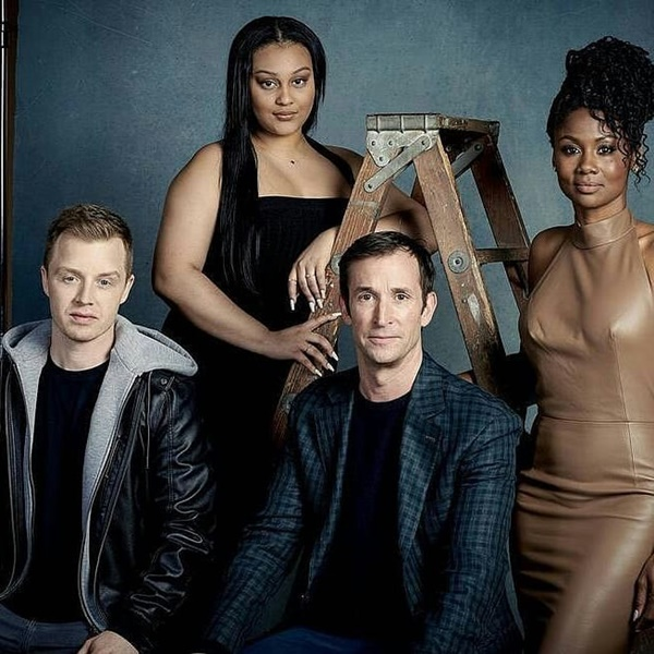 Aliyah Royale With cast of The Red Line (TV Series)  Image