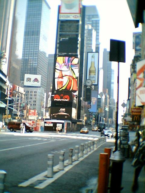 Times Square Coca Cola Sign
