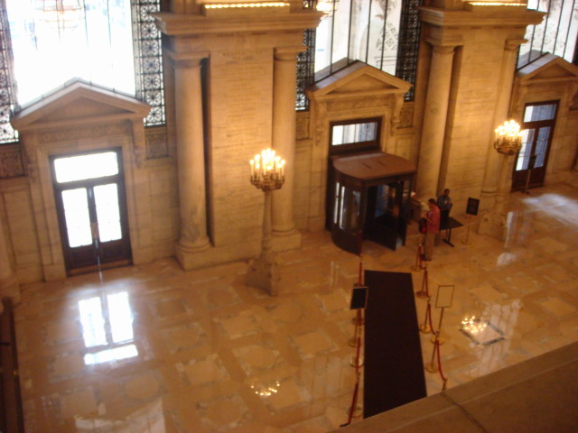 Library grand entrance