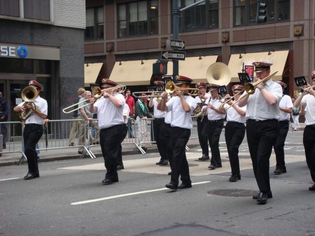 Pakistan Day marchingband