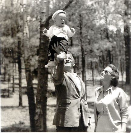 My Dad, Mom, and Mark on May 261955