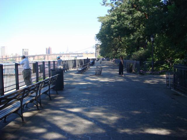 Promenade view -northward