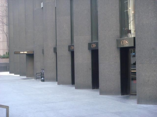 CBS Blackrock Building  Famous Ankles