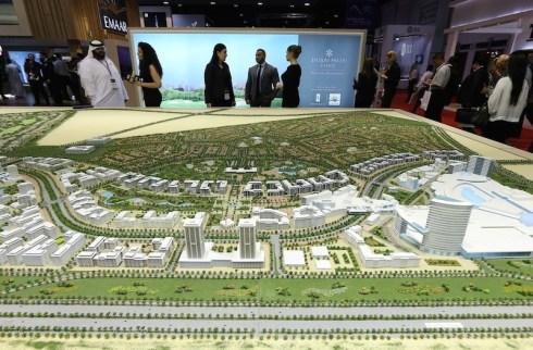 City Model Dubai plan
