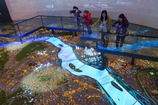 City Model Seoul aerial view