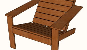 Remarkable Free Diy Square Adirondack Chair Plans A Modern Design Theyellowbook Wood Chair Design Ideas Theyellowbookinfo