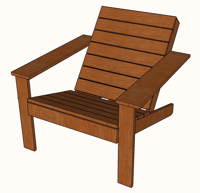 modern adirondack chair revolving accessories free diy plans famous artisan