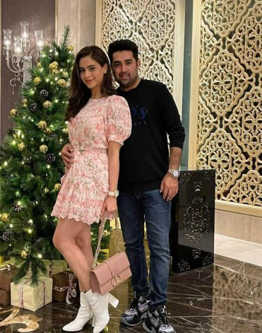Aamna Sharif Husband