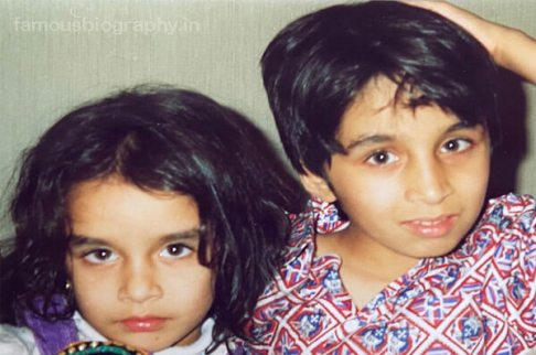 Shraddha Kapoor with her brother