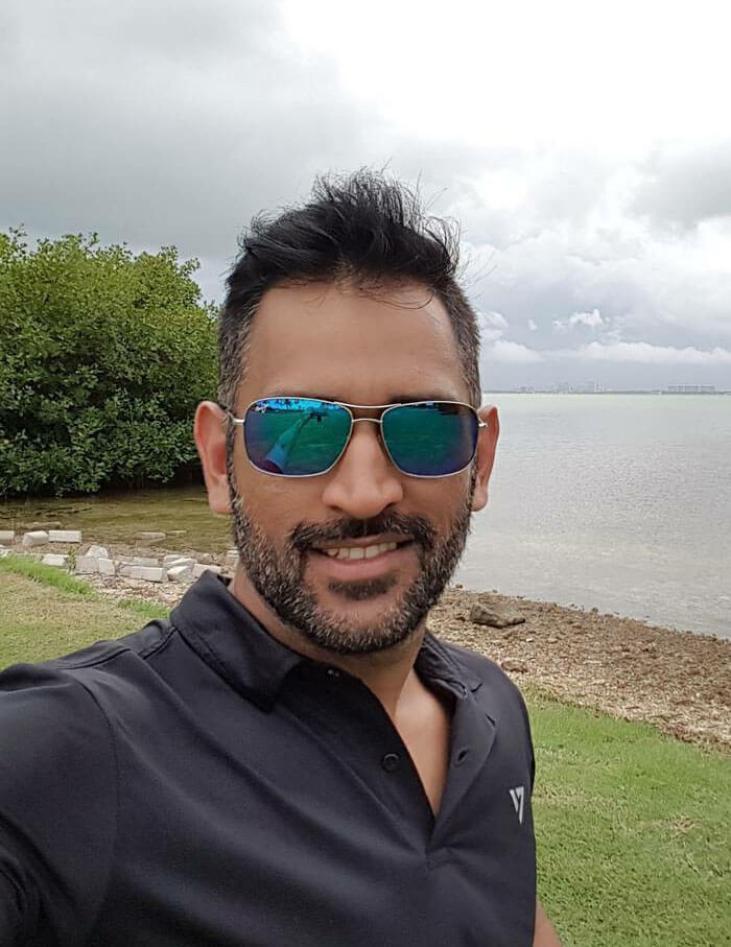Mahendra Singh Dhoni latest photo