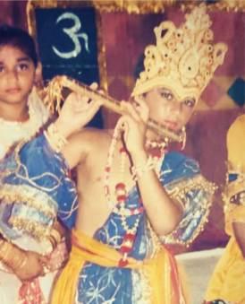 Pulkit Samra Childhood Image