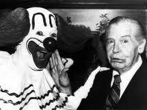 Bozo the Clown and Milton Berle