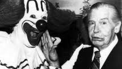 Bozo the Clown and Milton Berle