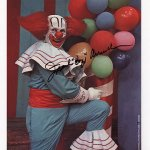 Frank Avruch as Bozo the Clown - signed photo