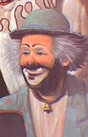 Mark Anthony, introduced to the Clown Hall of Fame in 1989