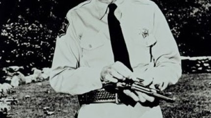 Don Knotts as Barney Fife in The Andy Griffith Show