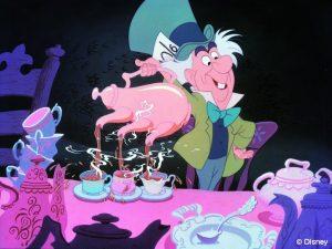 Ed Wynn as the Mad Hatter in Walt Disney's Alice in Wonderland
