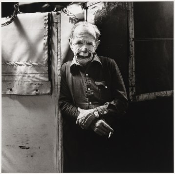 Swede Johnson, whiteface circus clown