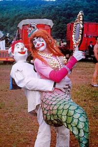 Bill Ballantine and mermaid