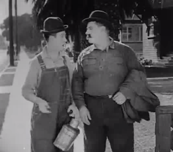 Saturday Afternoon, starring Harry Langdon and Vernon Dent