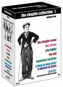 The Chaplin Collection volume 2 - The Chaplin Revue - The Circus - City Lights - The Kid - Monsieur Verdoux - A King in New York - A Woman of Paris