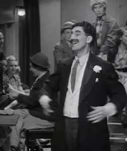 Lydia the Tattooed Lady, sung by Groucho Marx in At the Circus