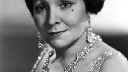 Margaret Dumont, printed in Movie Star News