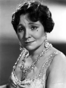 Margaret Dumont, printed in Movie Star News
