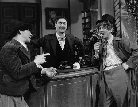 The Cocoanuts (1929), starring the Marx Brothers