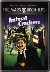 Animal Crackers - The Marx Brothers - Groucho - Harpo - Chico - Zeppo - Margaret Dumont