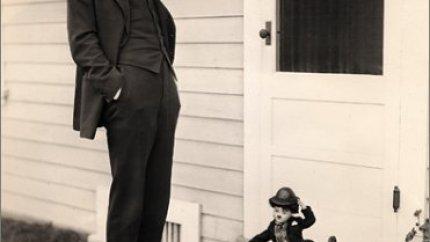 Charlie Chaplin - a photo diary