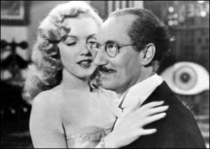 Love Happy - Marilyn Monroe with Groucho Marx