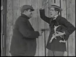 The Lucky Dog - the first on-screen pairing of Oliver Hardy and Stan Laurel