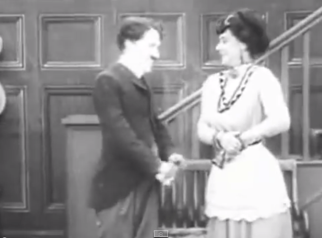 The Star Boarder - Charlie Chaplin and his landlady