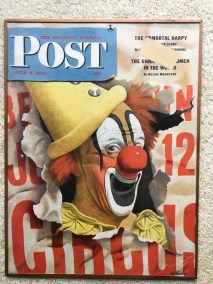 Lou Jacobs on the cover of the Saturday Evening Post