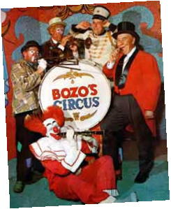 Bob Bell as Bozo on WGN-TV's Bozo's Circus