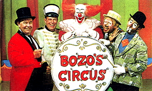 Bozo's Circus - group photo