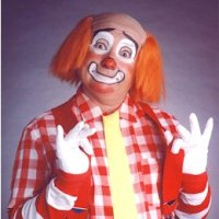 Roy Brown - our kooky cook Cooky from WGN-TV's Bozo the Clown TV show
