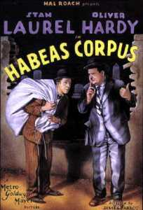 Habeas Corpus, starring Stan Laurel and Oliver Hardy