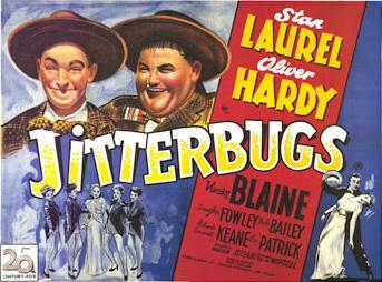 Jitterbugs (1943) starring Stan Laurel and Oliver Hardy, Bob Bailey, Vivian Blaine