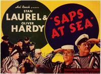 Saps at Sea movie poster