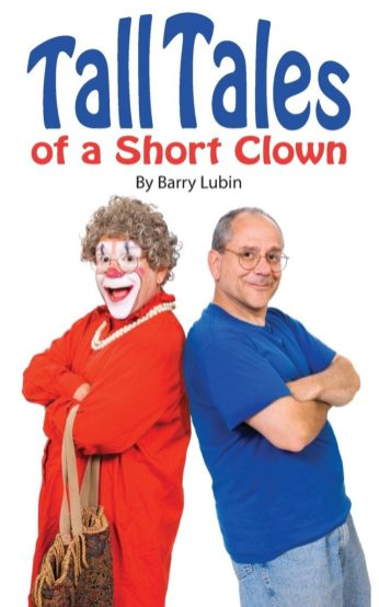 Tall Tales of a Short Clown - cover of Barry Lubin's autobiography - Grandma the Clown