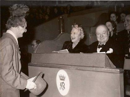 Coco (Michael Polakovs) meets Winston Churchill at the circus