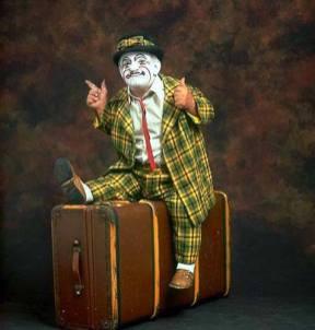 Frankie Saluto - ready to travel