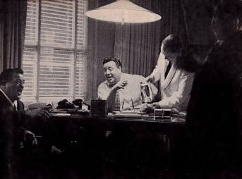 Lou Costello and Jackie Gleason