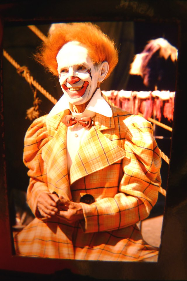 Paul Wenzel photo gallery circus clown - Famous Clowns