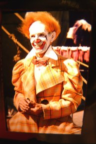 Paul Wenzel, color photo from the International Clown Hall of Fame